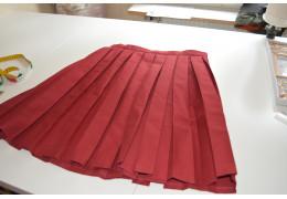 Enkel skoluniform kjol